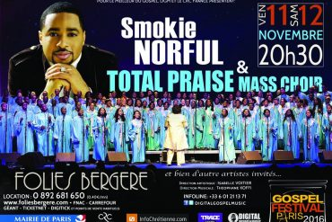 Smokie Norful au Gospel Festival de Paris 2016
