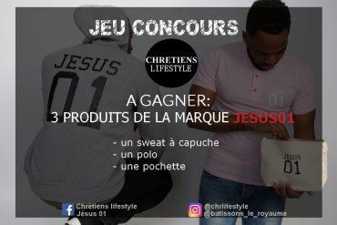 [TERMINE] Jeu concours: tentez de remporter 3 produits de la marque Jésus01 !
