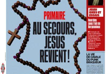 La Une choc de Libération ce jeudi 24 Novembre: «Au secours, Jésus revient bientôt» !
