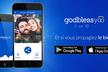 Découvrez l'application Godblessyoo, le nouveau «snapchat chrétien» !