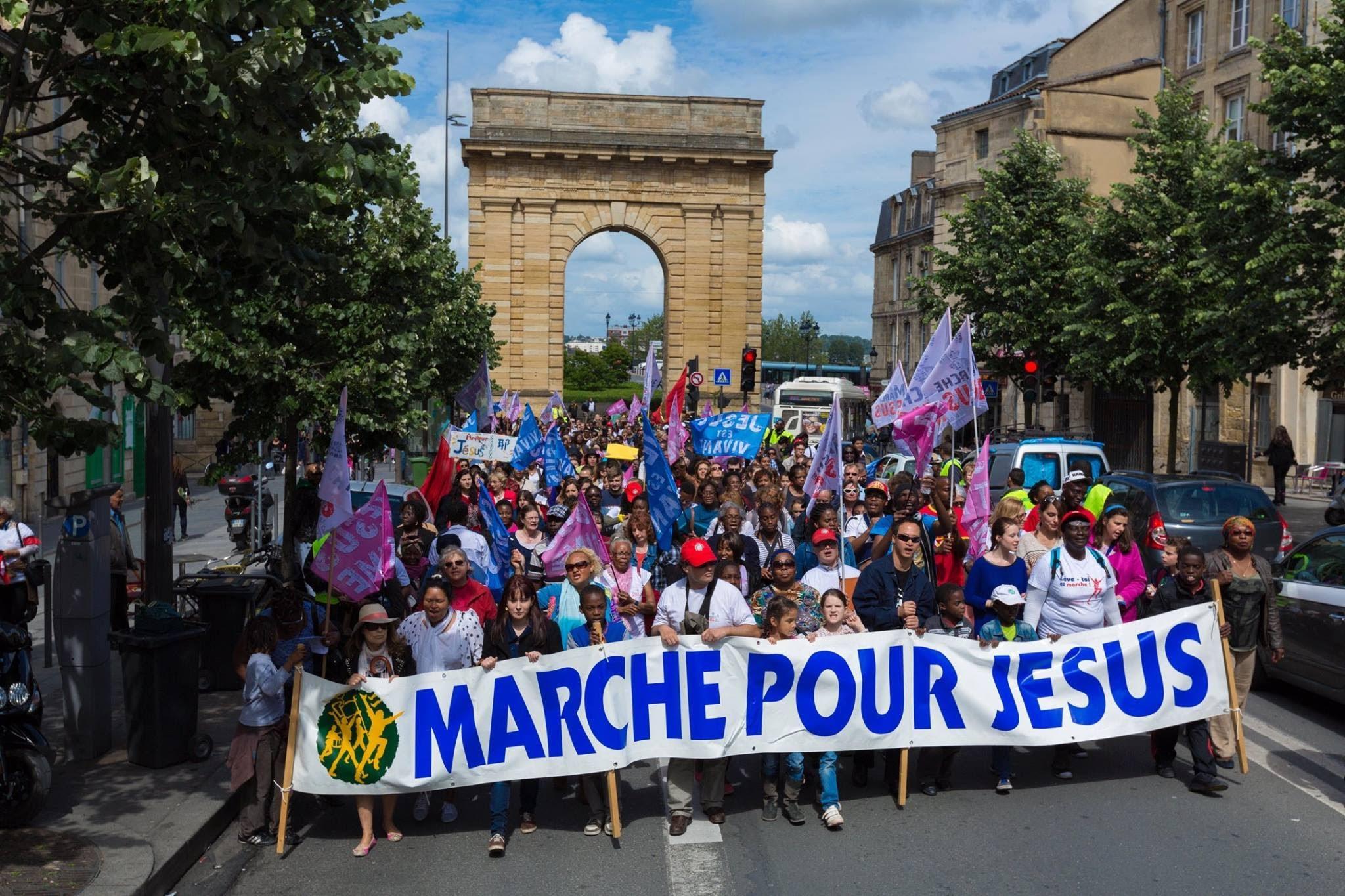 la marche pour j u00e9sus revient le 21 mai 2016
