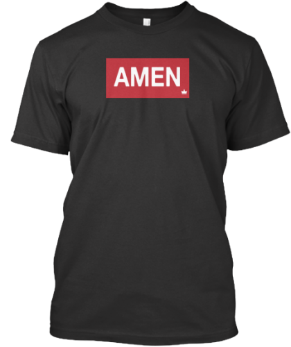 t shirt amen