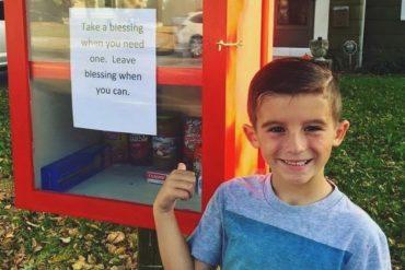 Etats-Unis : une famille invente les «boîtes à bénédictions» afin d'aider les plus démunis !