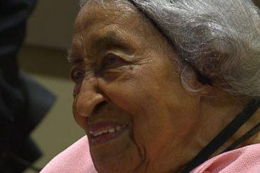 Elle fête son 105ème anniversaire et révèle le secret de la longévité : «C'est Jésus» !
