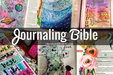 Découvrez 30 images de «Journaling Bible», la tendance artistique qui nous vient tout droit des Etats-Unis !