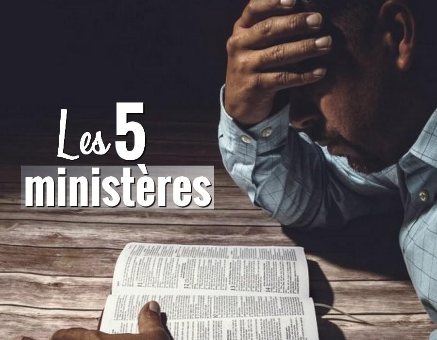 Sont 5 Ministères Quels La Les Lifestyle Dans BibleChrétiens Rq34jLc5A
